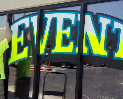 Lettering Services To Advertise On Your Car Windows