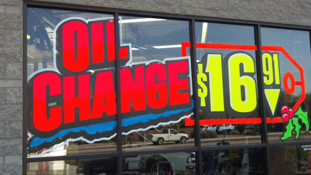 Auto Store Near Me >> storefront window signs   Window Painting & Sign Painting ...