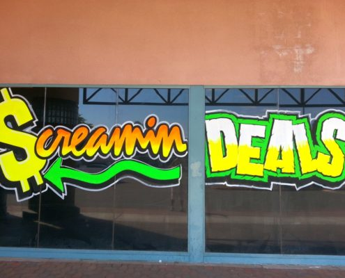 New Windshield Cost >> storefront window signs | Window Painting & Sign Painting | call 1-800-201-1759