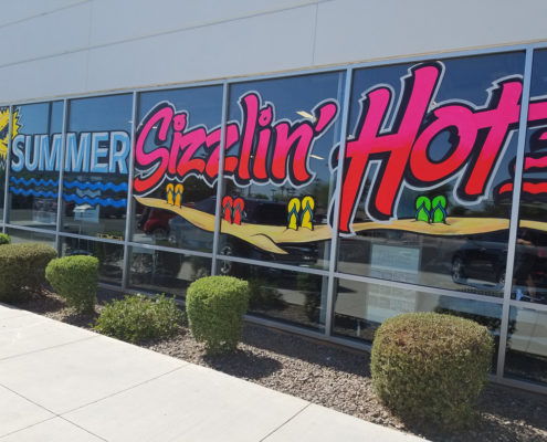 Cost To Paint A Car >> storefront window signs | Window Painting & Sign Painting | call 1-800-201-1759