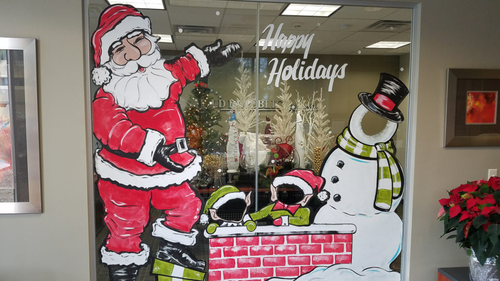 Seasonal Storefront Window Art By >> Holiday Window Painting Window Painting Sign Painting Call 1