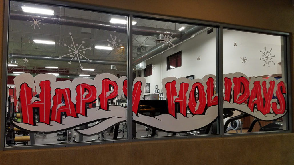 Holiday Window Painting Window Painting Amp Sign Painting